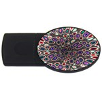 abstract_formula_wallpaper-387800 USB Flash Drive Oval (2 GB)