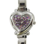 abstract_formula_wallpaper-387800 Heart Italian Charm Watch