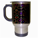 abstract_formula_wallpaper-387800 Travel Mug (Silver Gray)