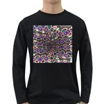 abstract_formula_wallpaper-387800 Long Sleeve Dark T-Shirt