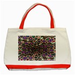 abstract_formula_wallpaper-387800 Classic Tote Bag (Red)