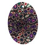 abstract_formula_wallpaper-387800 Oval Ornament (Two Sides)