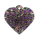 abstract_formula_wallpaper-387800 Dog Tag Heart (One Side)