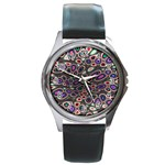 abstract_formula_wallpaper-387800 Round Metal Watch
