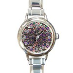 abstract_formula_wallpaper-387800 Round Italian Charm Watch