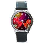 2_Shiny_Roses-77215 Round Metal Watch