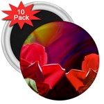 2_Shiny_Roses-77215 3  Magnet (10 pack)