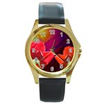 2_Shiny_Roses-77215 Round Gold Metal Watch