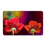 2_Shiny_Roses-77215 Magnet (Rectangular)