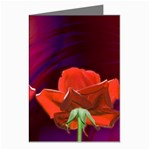 2_Shiny_Roses-77215 Greeting Cards (Pkg of 8)