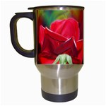 2_Shiny_Roses-77215 Travel Mug (White)