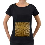 Easy%20rings%201-212003 Maternity Black T-Shirt