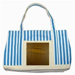 Easy%20rings%201-212003 Striped Blue Tote Bag