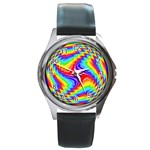 Disco-Party-Style-413640 Round Metal Watch