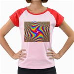 Disco-Party-Style-413640 Women s Cap Sleeve T-Shirt