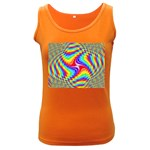 Disco-Party-Style-413640 Women s Dark Tank Top