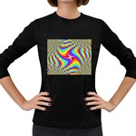 Disco-Party-Style-413640 Women s Long Sleeve Dark T-Shirt