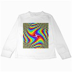 Disco-Party-Style-413640 Kids Long Sleeve T-Shirt