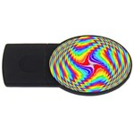 Disco-Party-Style-413640 USB Flash Drive Oval (4 GB)
