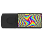 Disco-Party-Style-413640 USB Flash Drive Rectangular (4 GB)