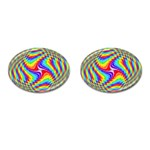 Disco-Party-Style-413640 Cufflinks (Oval)