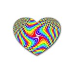 Disco-Party-Style-413640 Heart Coaster (4 pack)