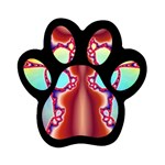 Cyber_Mirror-364694 Magnet (Paw Print)