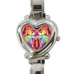 Cyber_Mirror-364694 Heart Italian Charm Watch