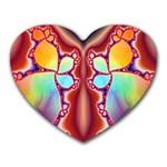 Cyber_Mirror-364694 Mousepad (Heart)