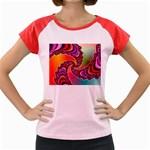 Cool_Fractal-818879 Women s Cap Sleeve T-Shirt