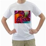 Cool_Fractal-818879 White T-Shirt