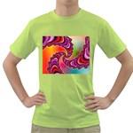 Cool_Fractal-818879 Green T-Shirt