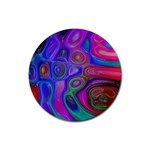 space-colors-2-988212 Rubber Coaster (Round)