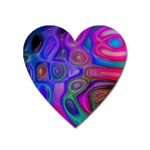 space-colors-2-988212 Magnet (Heart)