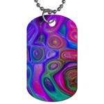 space-colors-2-988212 Dog Tag (One Side)