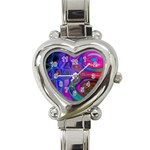 space-colors-2-988212 Heart Italian Charm Watch
