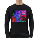 space-colors-2-988212 Long Sleeve Dark T-Shirt