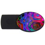 space-colors-2-988212 USB Flash Drive Oval (4 GB)