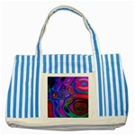 space-colors-2-988212 Striped Blue Tote Bag