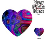 space-colors-2-988212 Multi-purpose Cards (Heart)