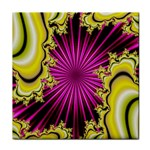 sonic_yellow_wallpaper-120357 Tile Coaster