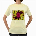sonic_yellow_wallpaper-120357 Women s Yellow T-Shirt