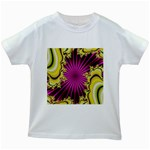 sonic_yellow_wallpaper-120357 Kids White T-Shirt