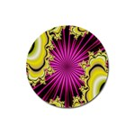 sonic_yellow_wallpaper-120357 Magnet 3  (Round)