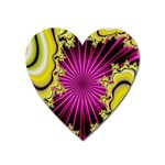 sonic_yellow_wallpaper-120357 Magnet (Heart)