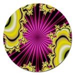 sonic_yellow_wallpaper-120357 Magnet 5  (Round)