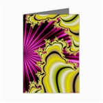 sonic_yellow_wallpaper-120357 Mini Greeting Card