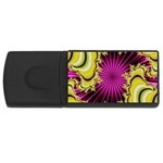 sonic_yellow_wallpaper-120357 USB Flash Drive Rectangular (1 GB)
