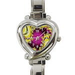 sonic_yellow_wallpaper-120357 Heart Italian Charm Watch