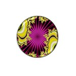 sonic_yellow_wallpaper-120357 Hat Clip Ball Marker (4 pack)